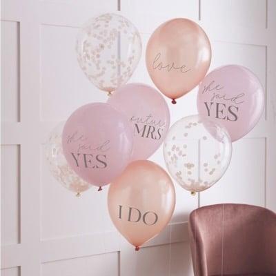 balóny rozlúčka so slobodou