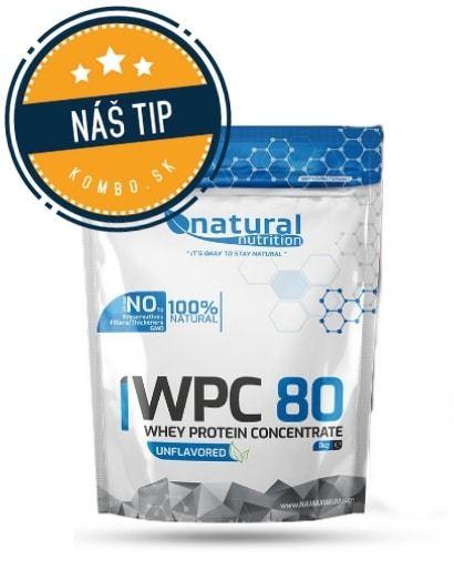 WPC 80 - srvátkový whey proteín Natural Nutrition