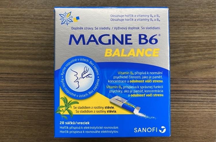magne B6 balance