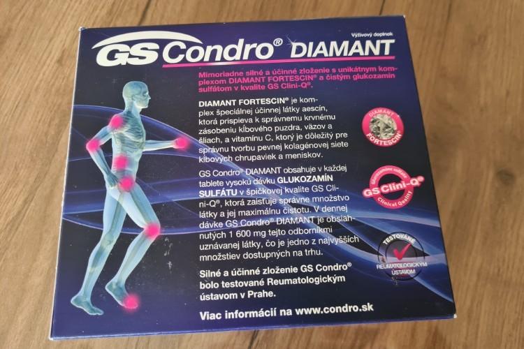 GS Condro Diamant účinky