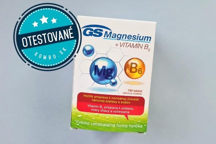 GS Magnesium + VITAMÍN B6 recenzia