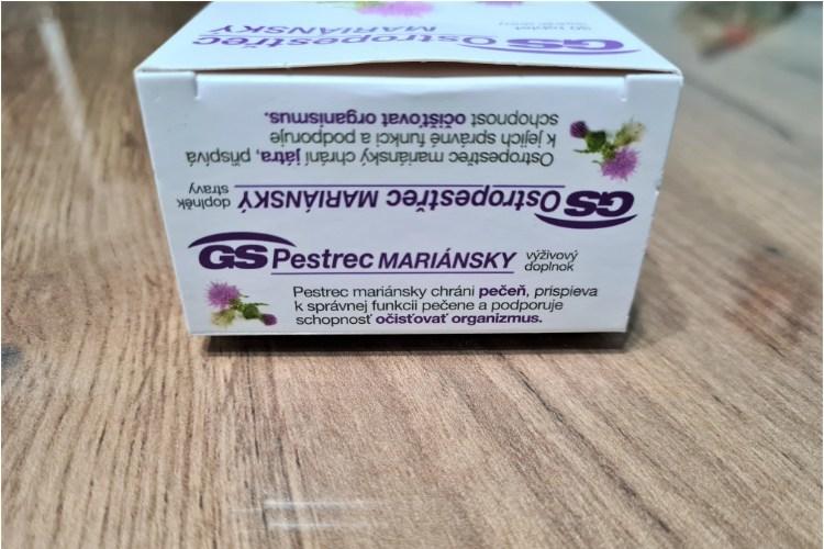 GS Pestrec mariánsky účinky