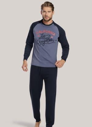 Pánske pyžamo s nápisom