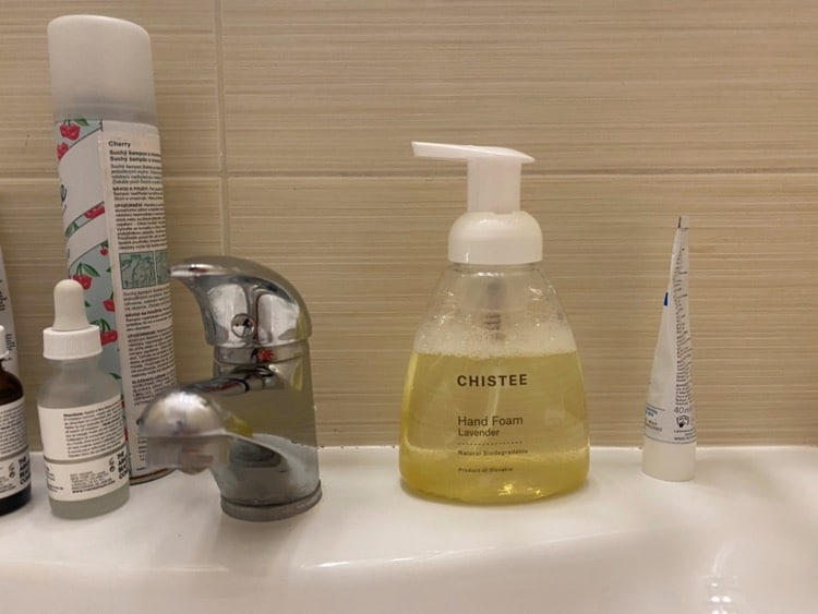 hand wash chistee