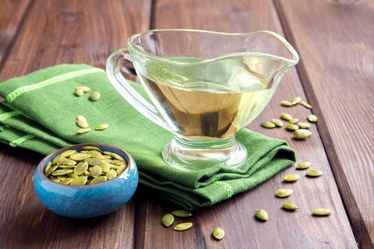 Tekvicový olej účinky užívanie použitie