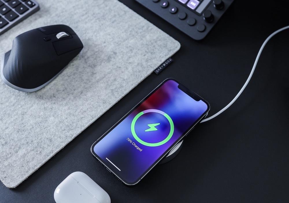bezdrôtové nabíjanie smartfónu